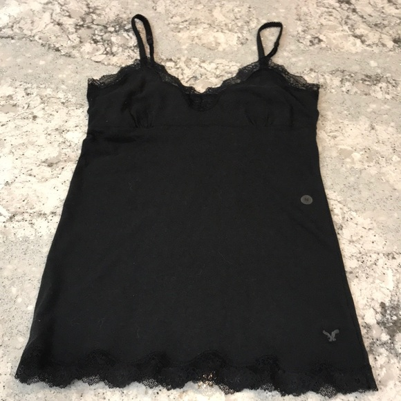 American Eagle Outfitters Tops - Black Camisole